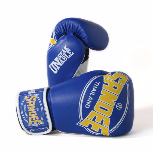 Sandee Cool-Tech Boxing Gloves Blue/Yellow